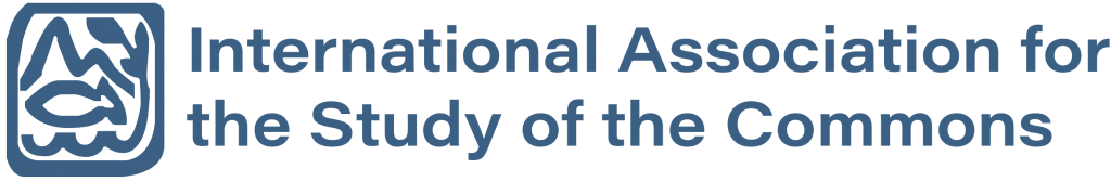 International Association for the Study of Commons logo